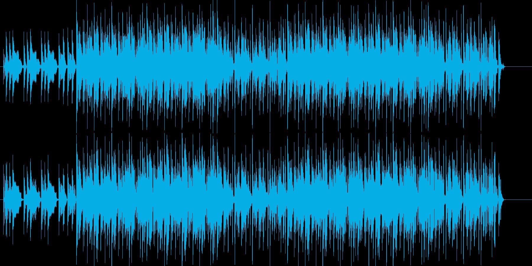 無機質で淡々としたダンスエレクトロニカの再生済みの波形