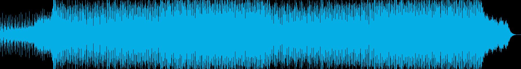 EDMポップで明るいクラブ系-114の再生済みの波形