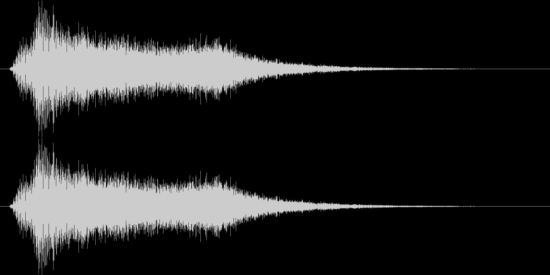 サウンドロゴ17の未再生の波形