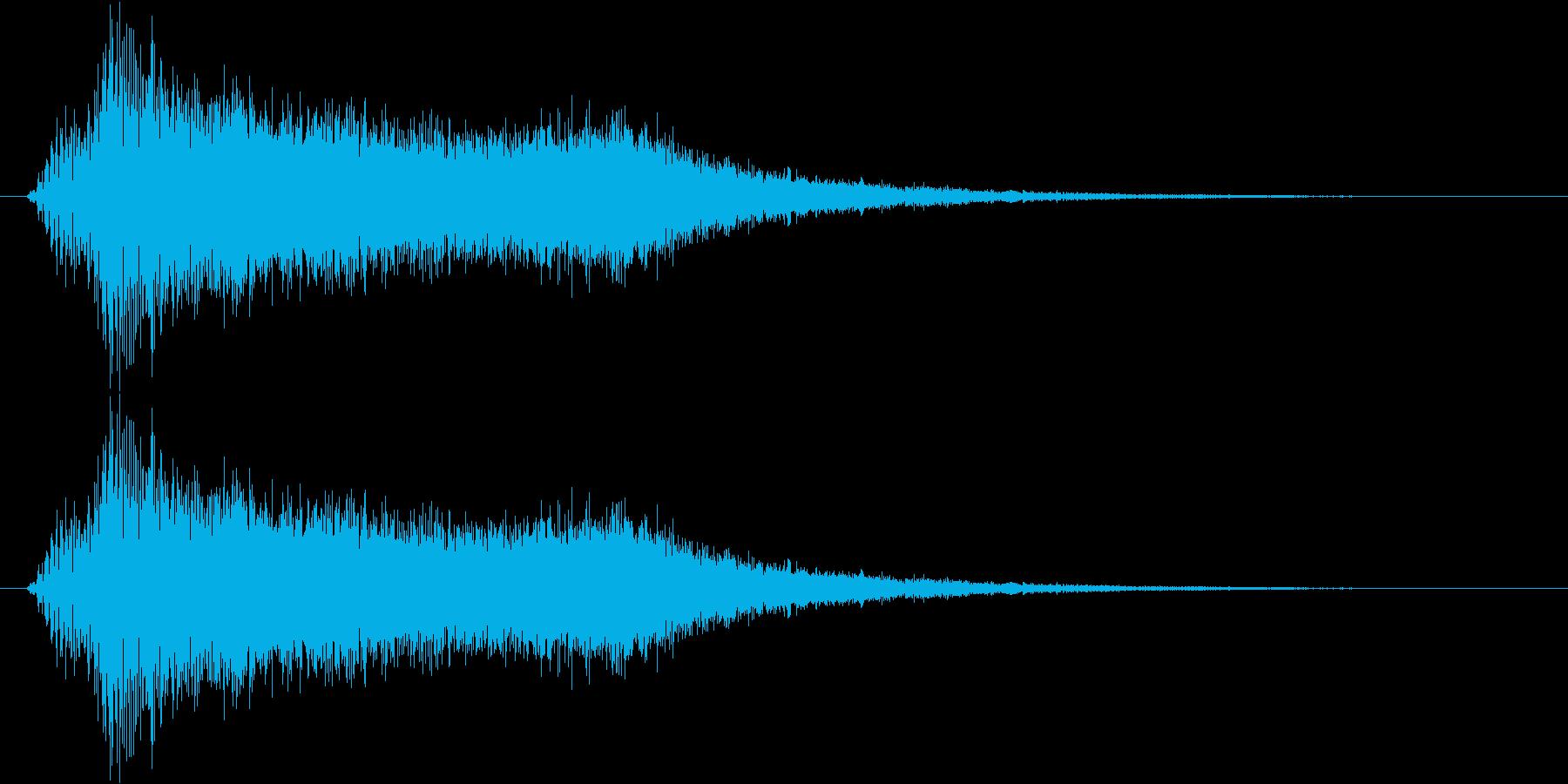 サウンドロゴ17の再生済みの波形