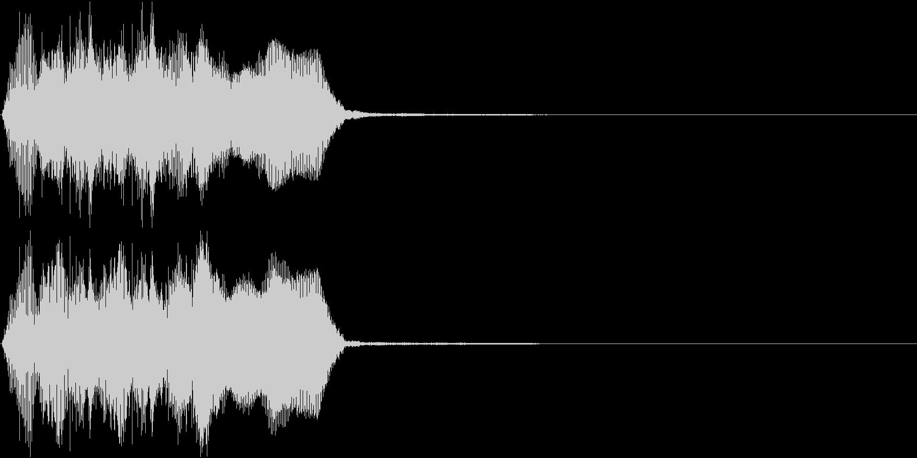 トランペット ファンファーレ 定番 17の未再生の波形