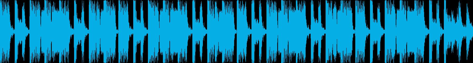 ジャンクな雰囲気のエレクトロなグルーブの再生済みの波形