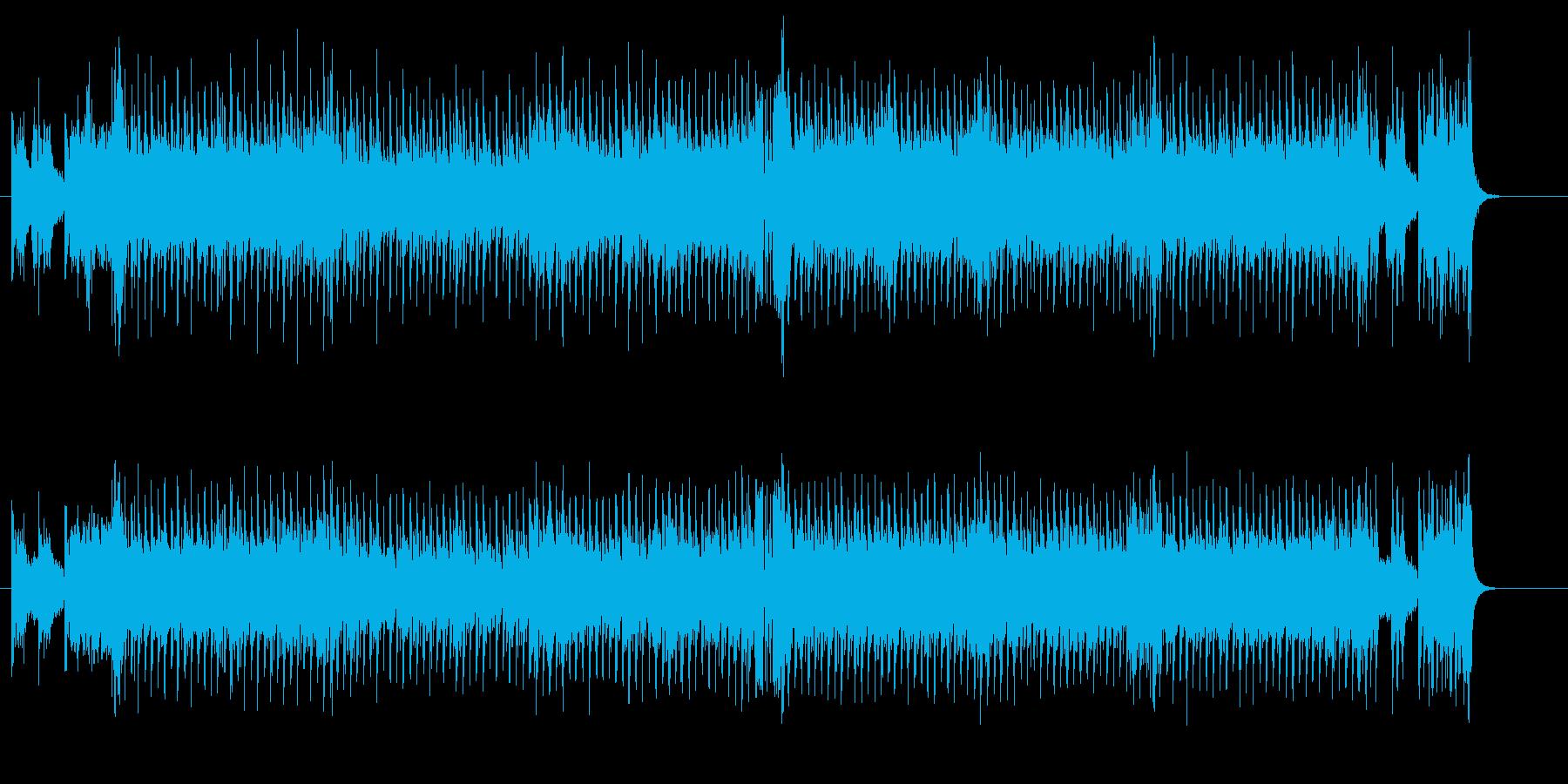 哀愁のユーロ・ビートの再生済みの波形