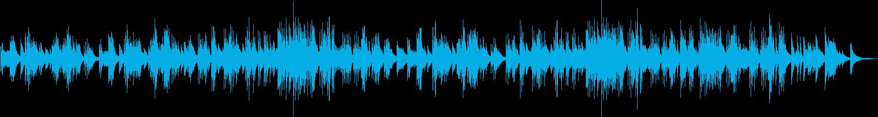 切ない旋律が印象的なピアノソロバラードの再生済みの波形