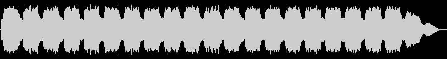 エマージェンシーサイレン タイプDの未再生の波形