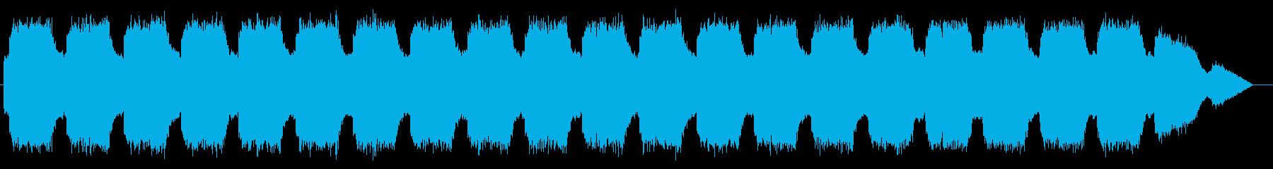 エマージェンシーサイレン タイプDの再生済みの波形