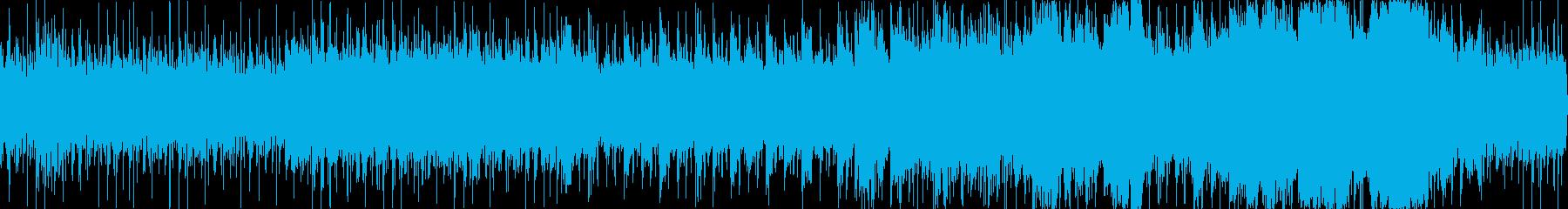 戦闘フィールド風オーケストラの再生済みの波形