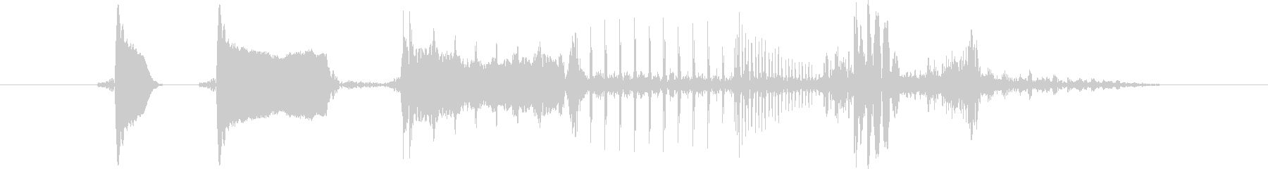 ピロリ!決定/ボタン/クリック効果音25の未再生の波形