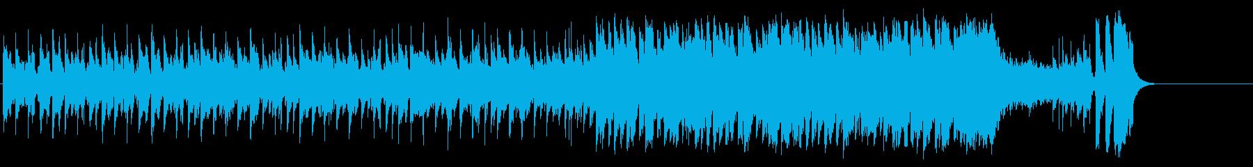 和やかなポップ BGM(イントロ~A…)の再生済みの波形