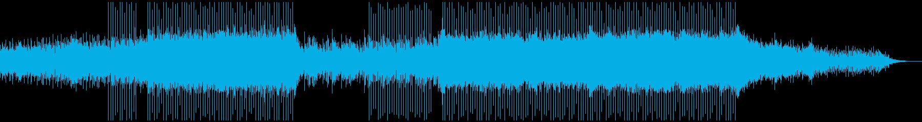 ピアノがきらきら綺麗なBGMの再生済みの波形