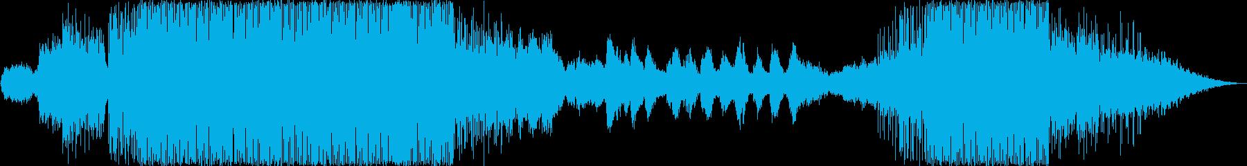 アンビエントなシンセとステディなリズム…の再生済みの波形