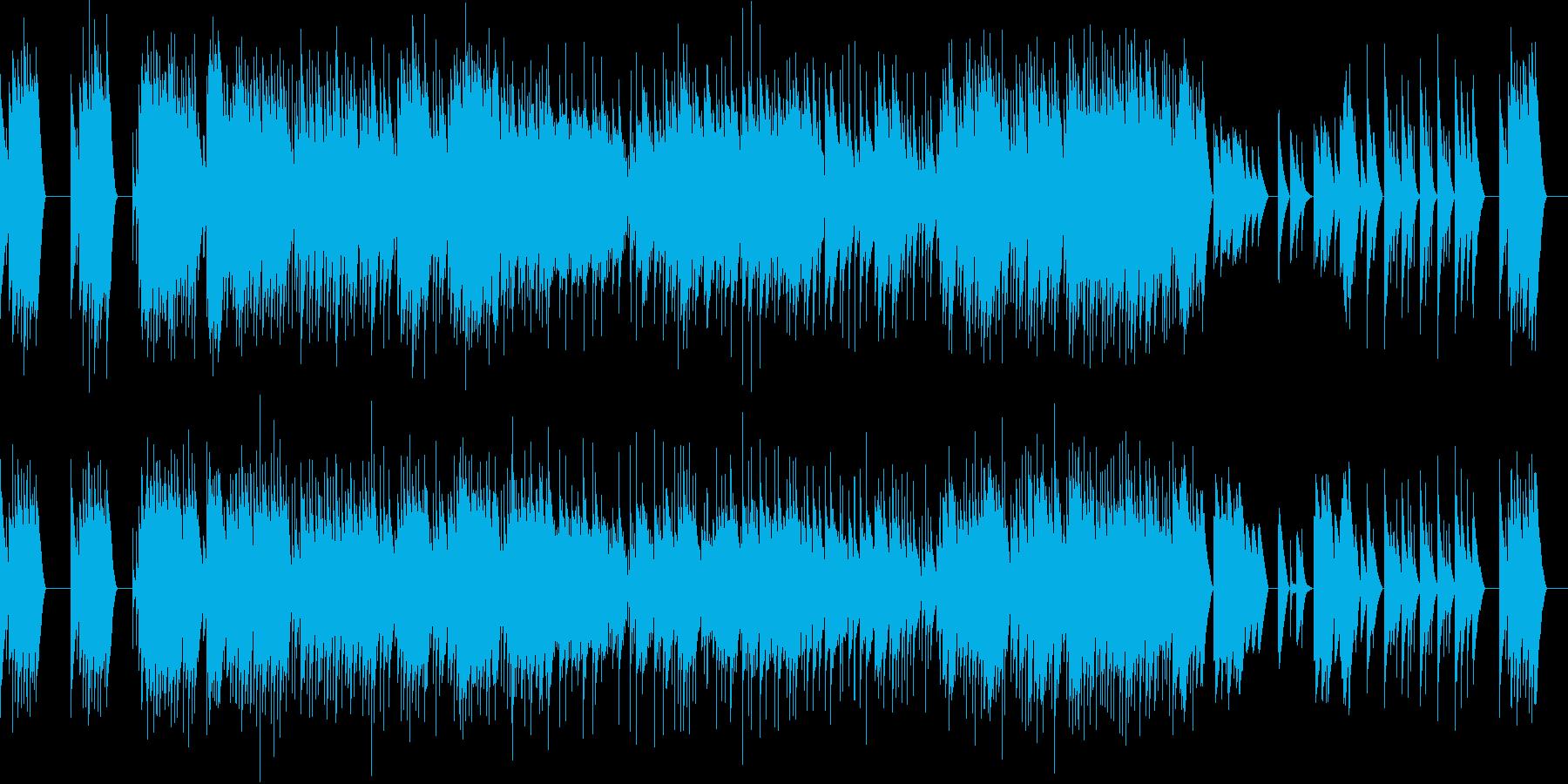 フォーレ 1.前奏曲  オルゴールの再生済みの波形