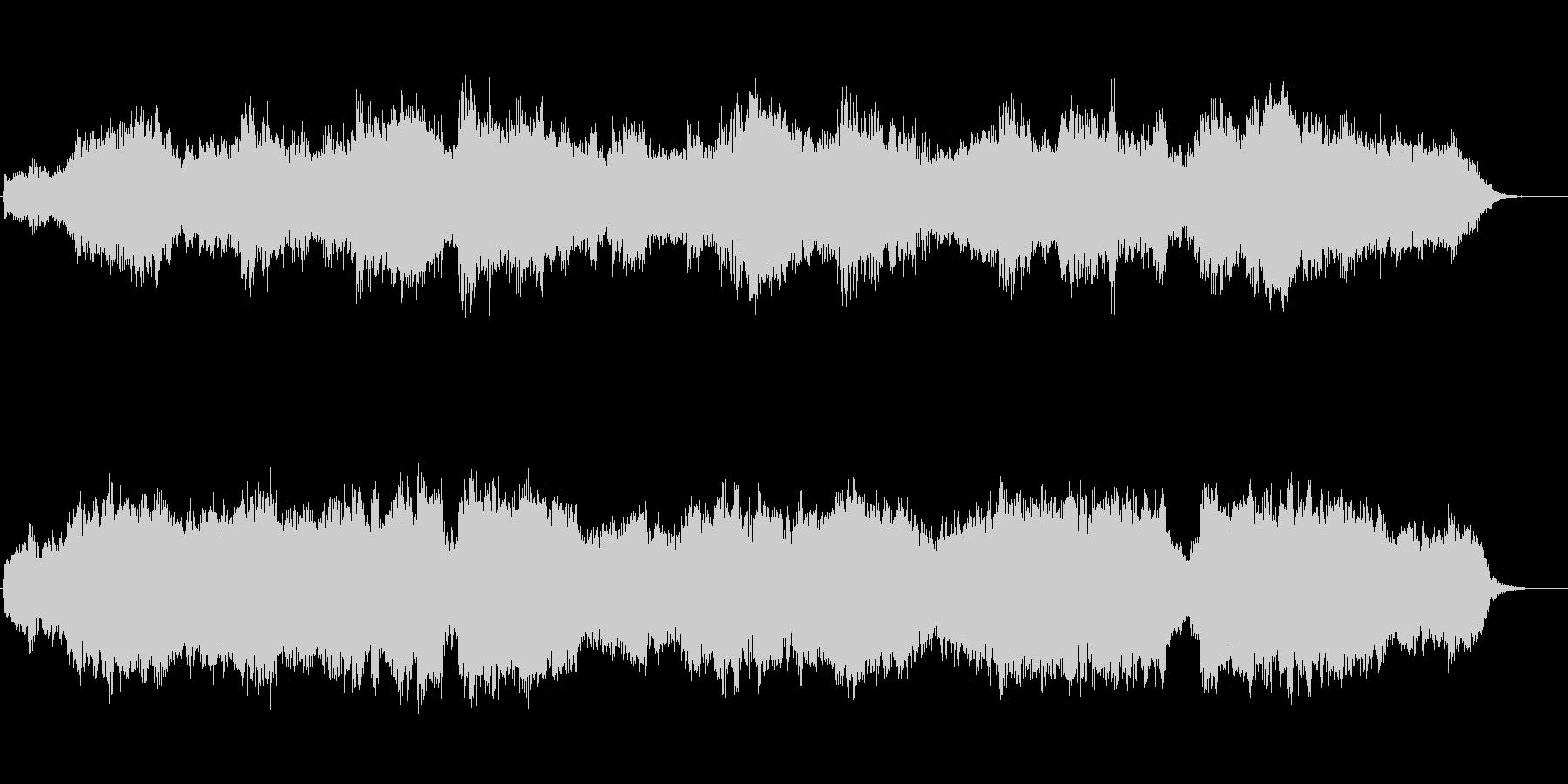 アヴェ・ヴェルム・コルプス 弦と木管の未再生の波形