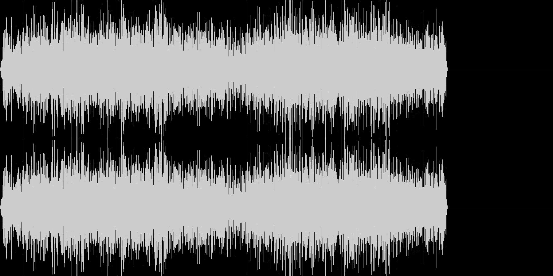 工場 工業地帯 ノイズ 機械音の未再生の波形