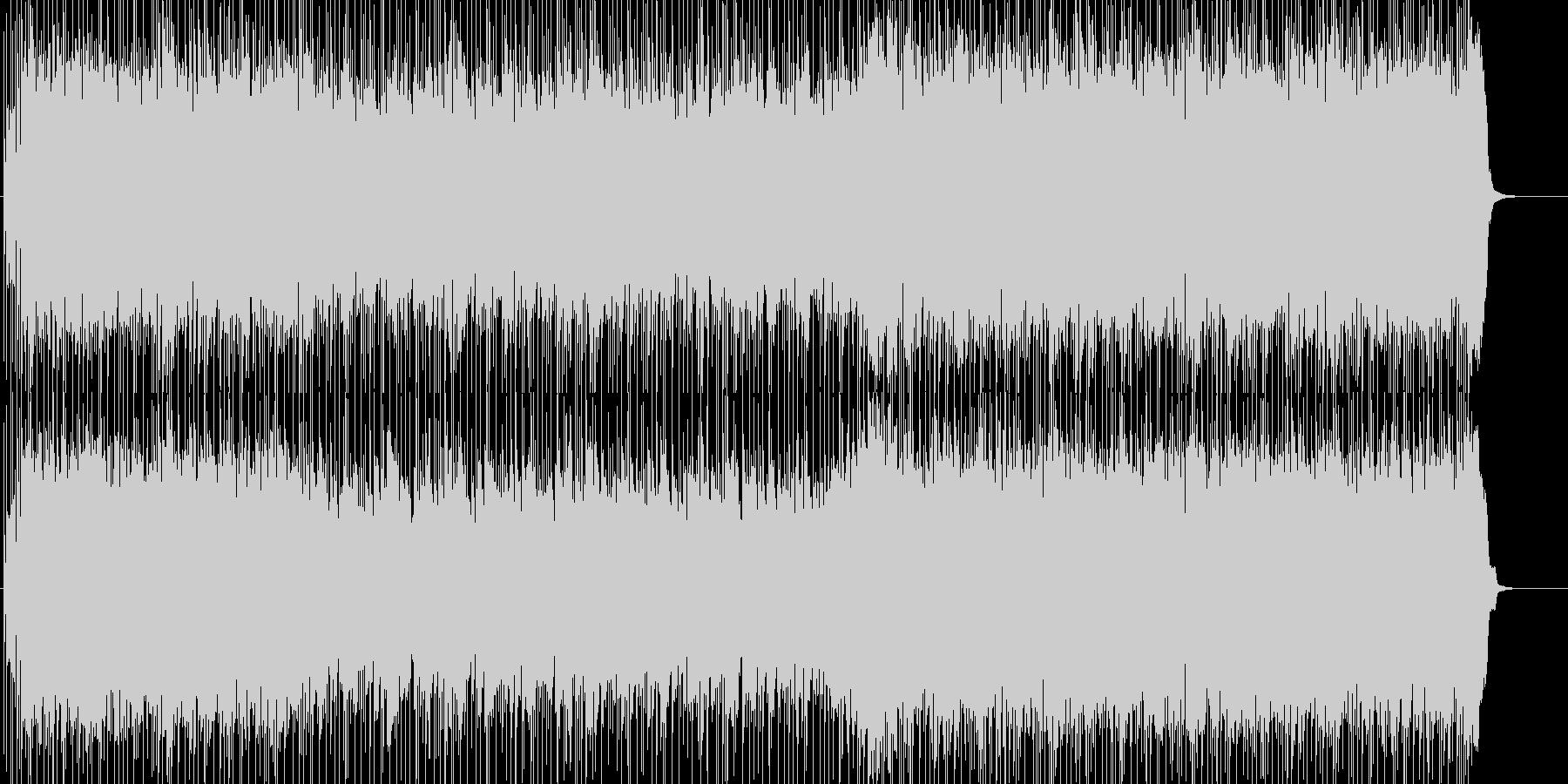 ギターメインの爽やかな店内向けBGMの未再生の波形