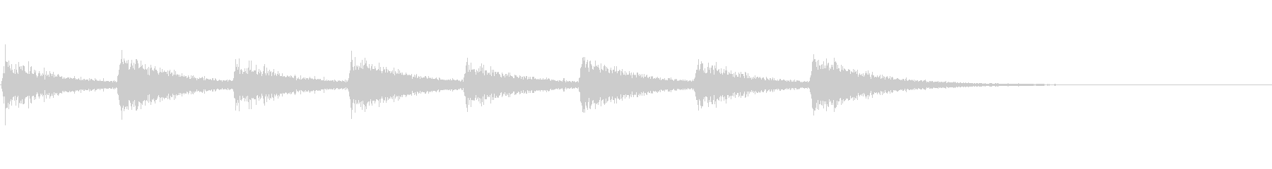息づかい (ノーマルスピード)の未再生の波形