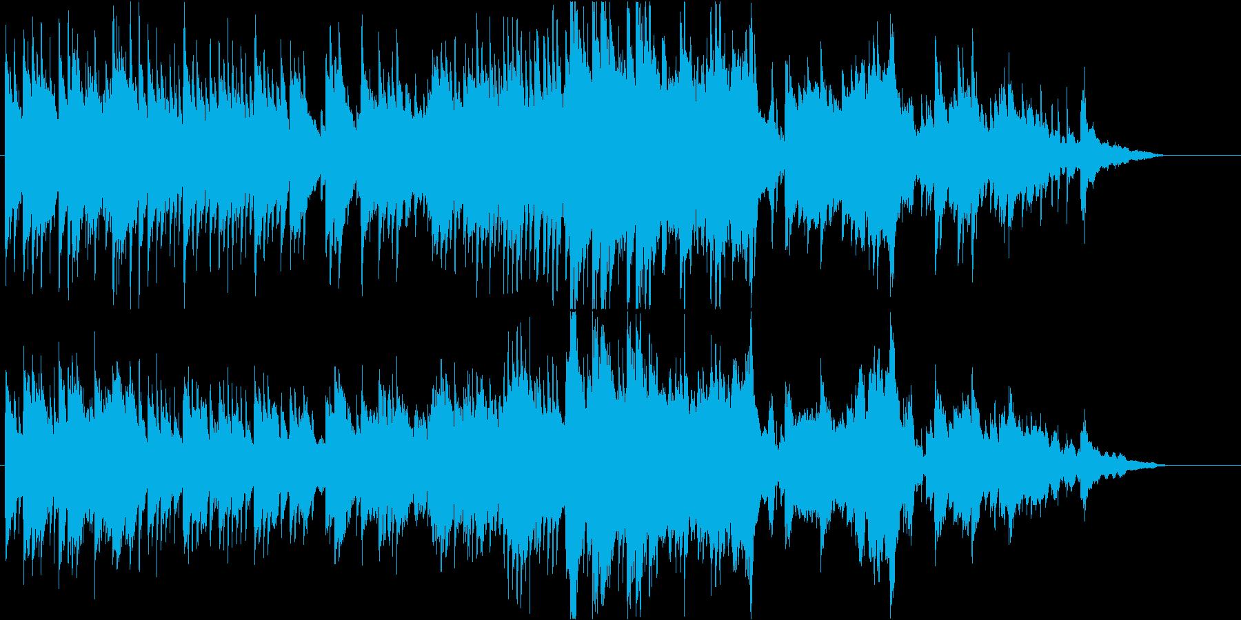 温かでちょっと切ないピアノバラードの再生済みの波形