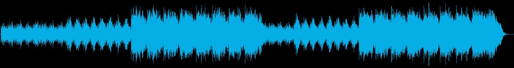 ベルの幻想的なプレリュードの再生済みの波形