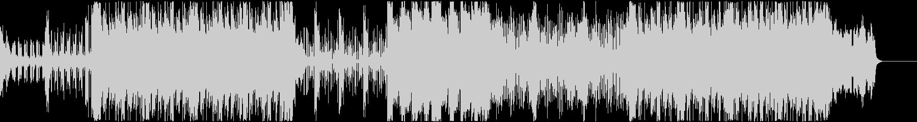 シンセに二胡をMIXしたロック調サウンドの未再生の波形