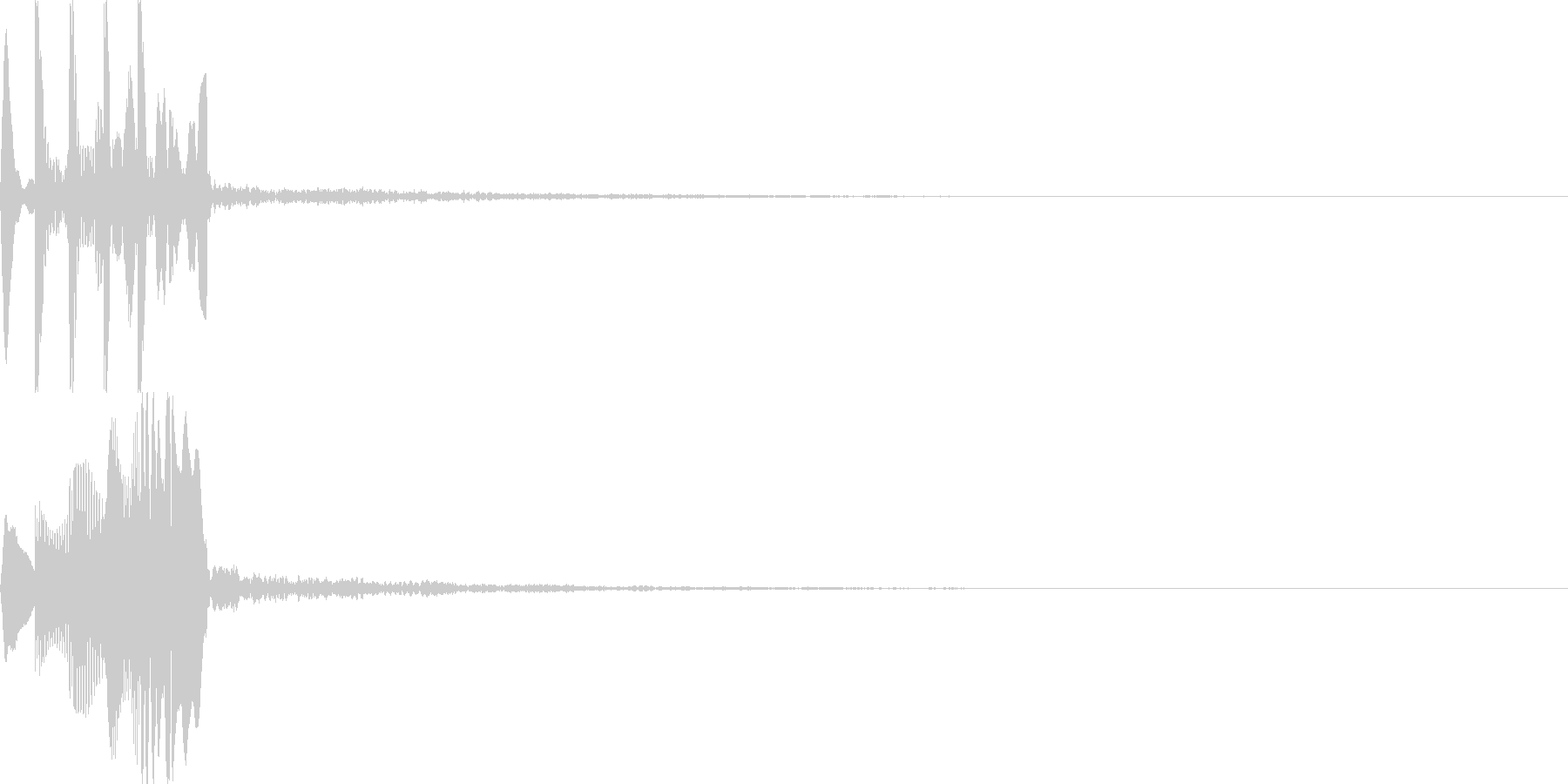 システム音24_シンセDSの未再生の波形