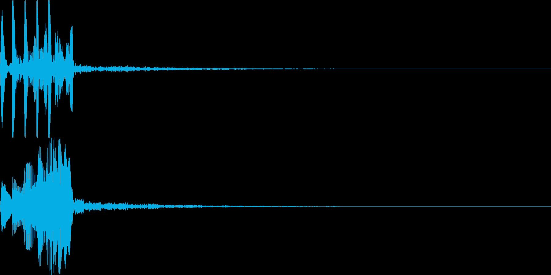 システム音24_シンセDSの再生済みの波形