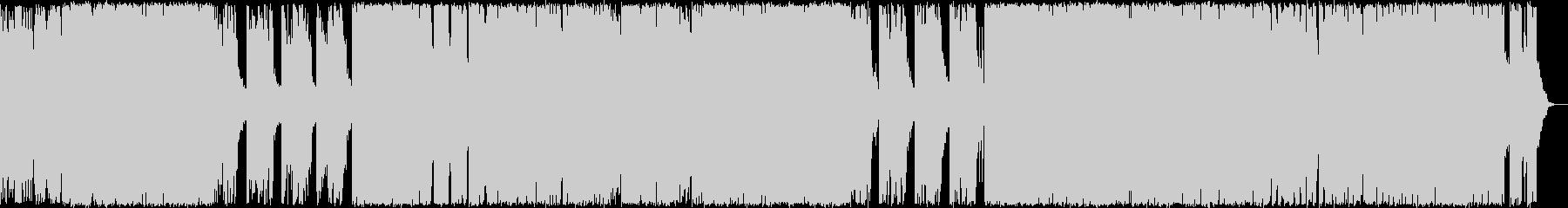 ジャックオーランタン ポップにホラー調の未再生の波形