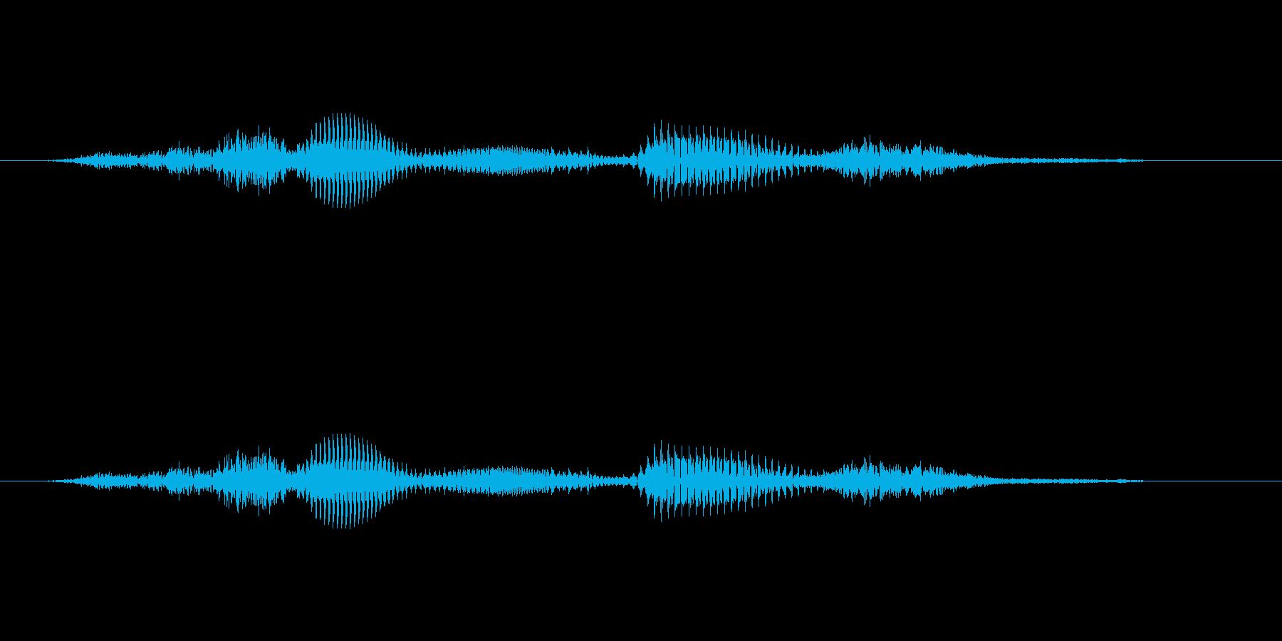 【時報・時報】7時です (しち)の再生済みの波形