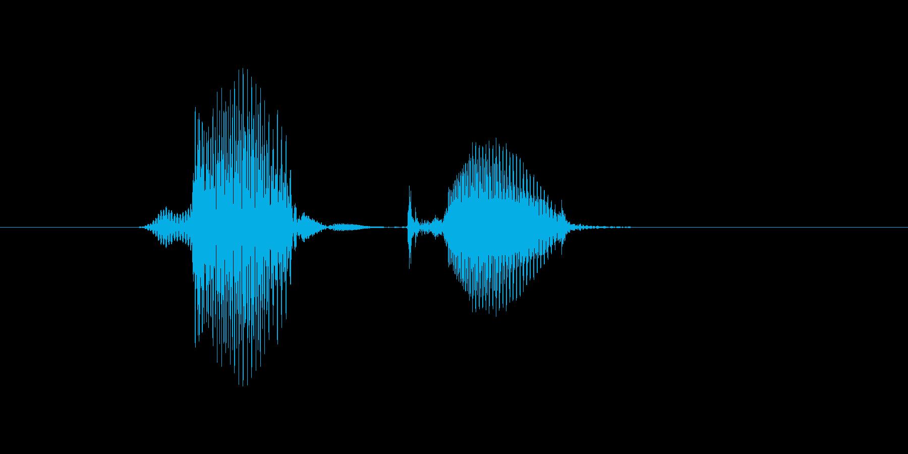 6(ろく)の再生済みの波形