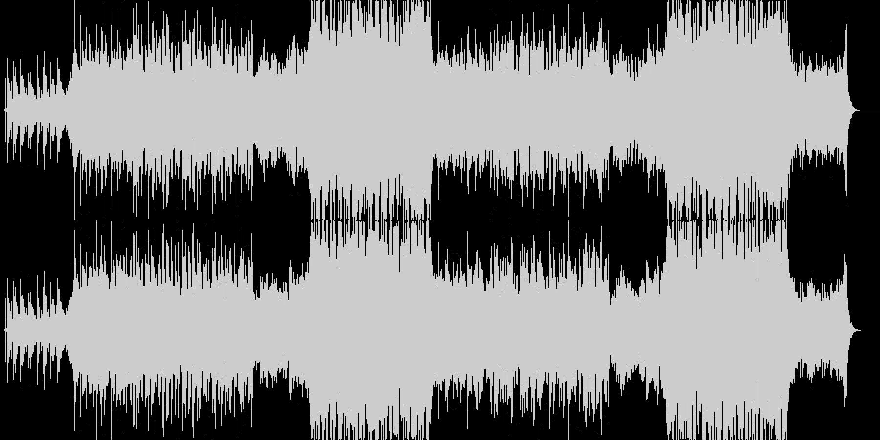 リラックスできる楽曲ですの未再生の波形