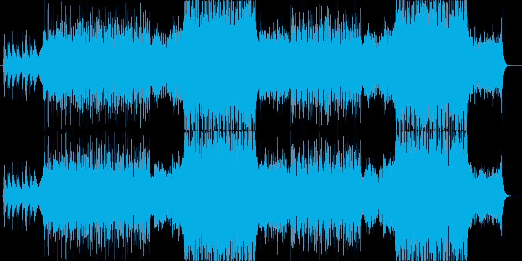 リラックスできる楽曲ですの再生済みの波形