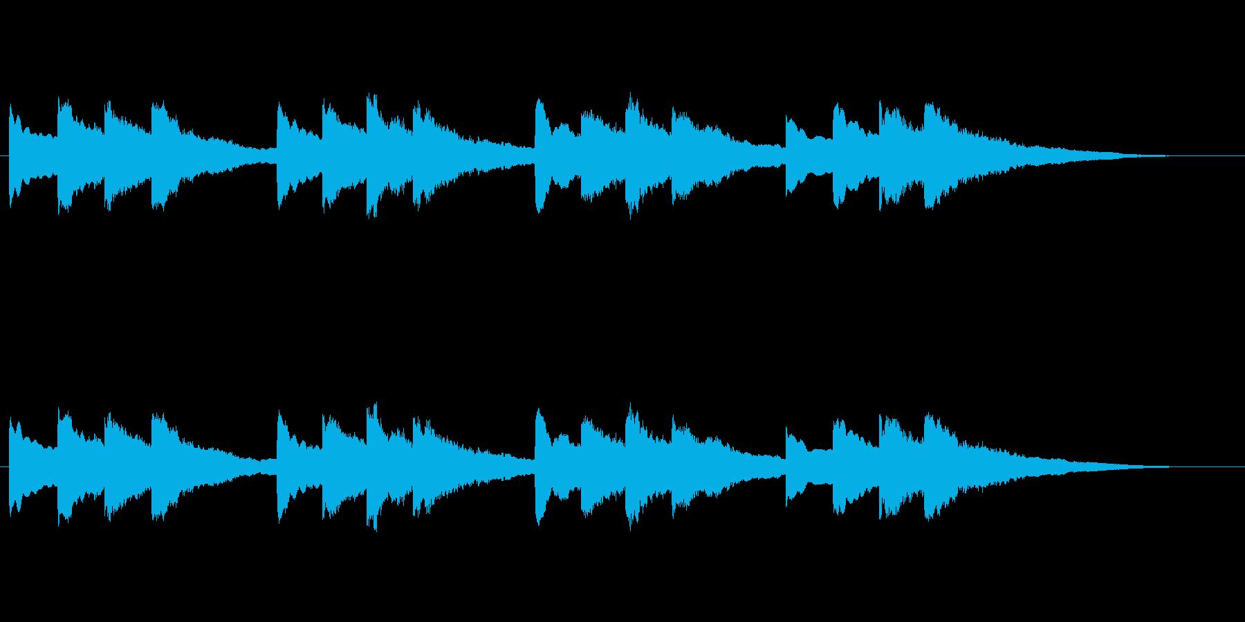 【チャイム 学校02-01】の再生済みの波形