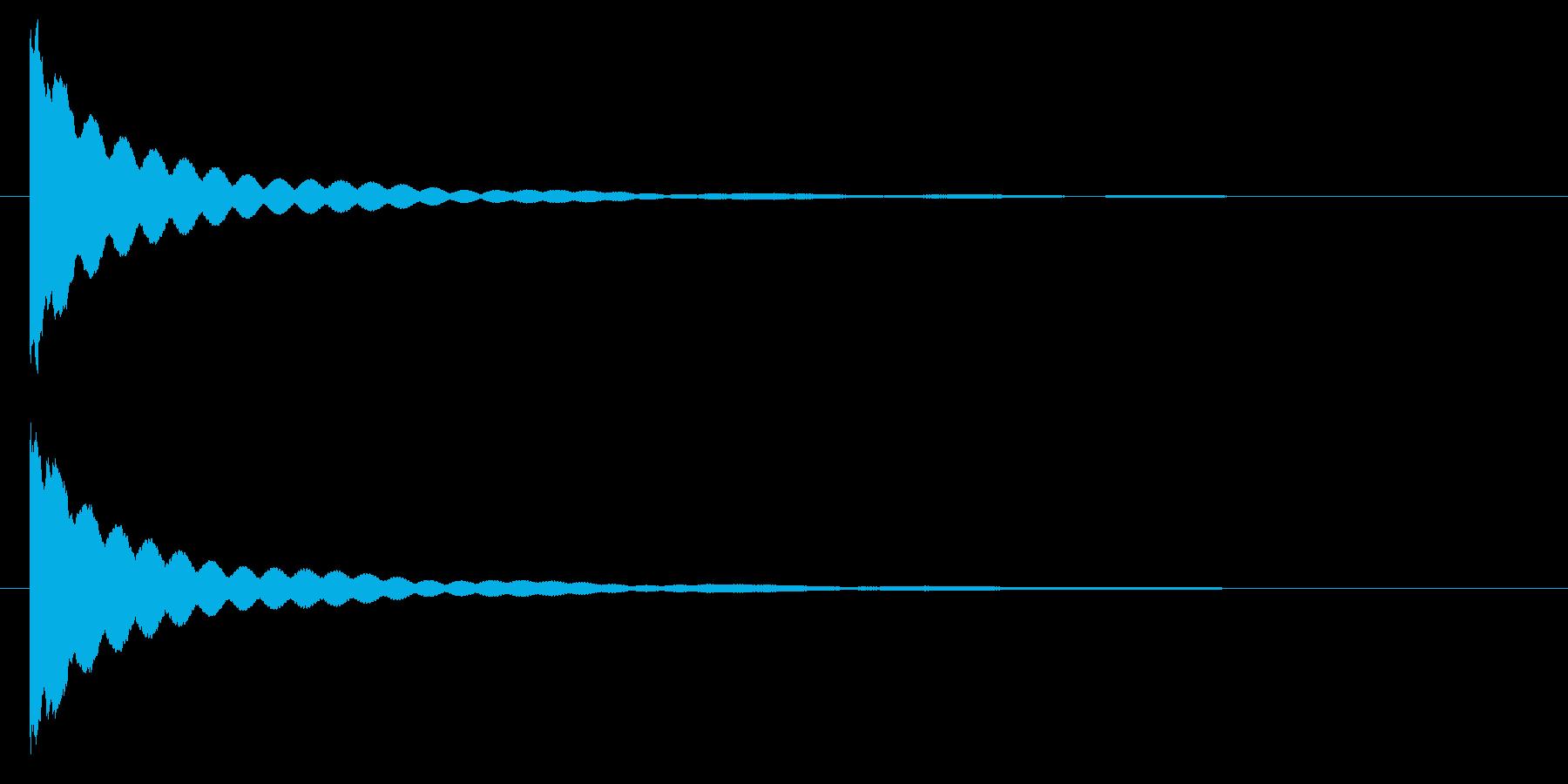 チーン・・・ お鈴・仏壇の鐘の再生済みの波形