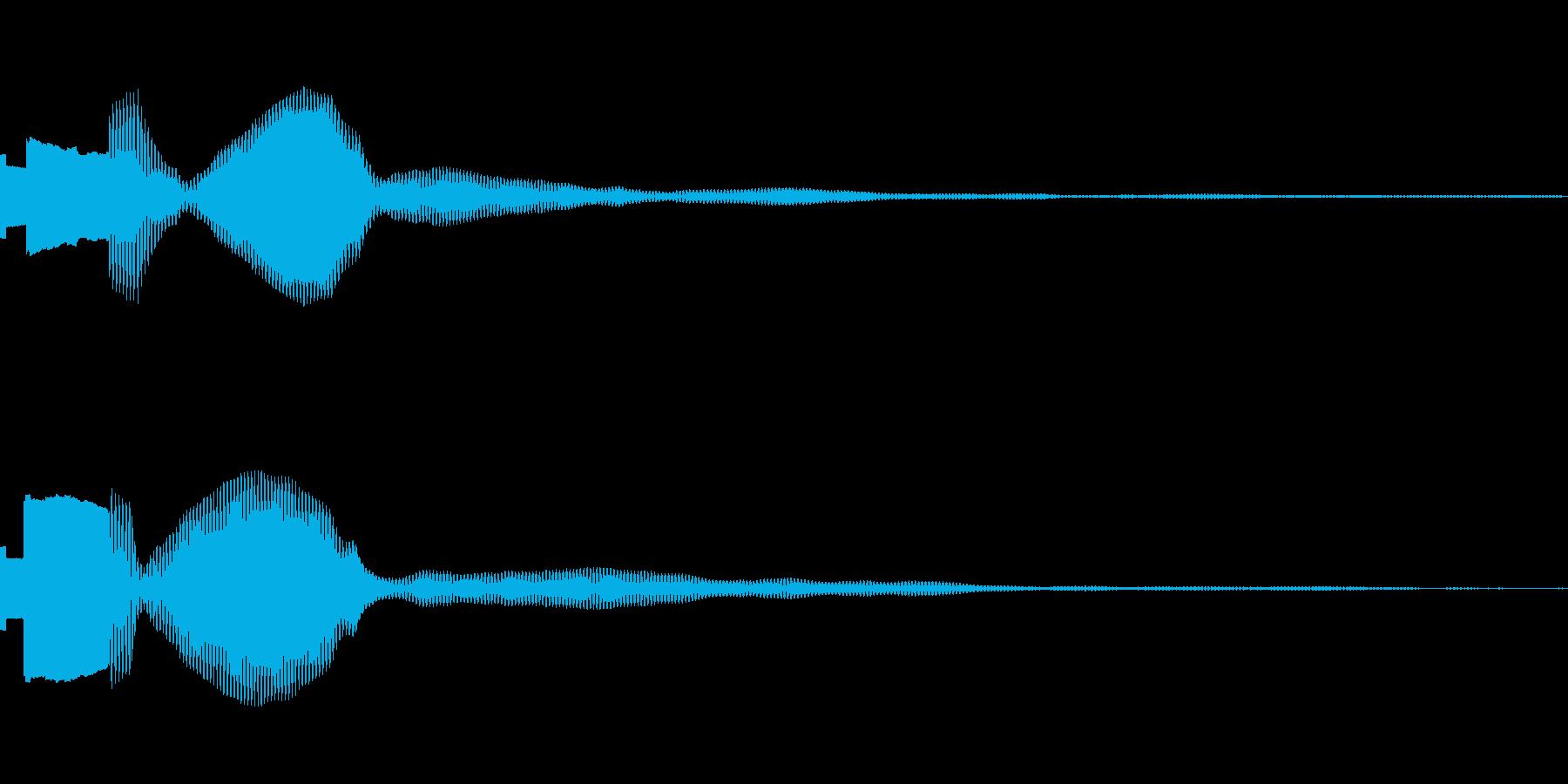 ピポの再生済みの波形