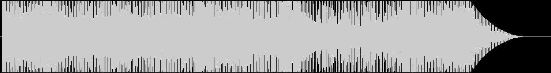 ゲーム・バトル系モノのループ曲の未再生の波形