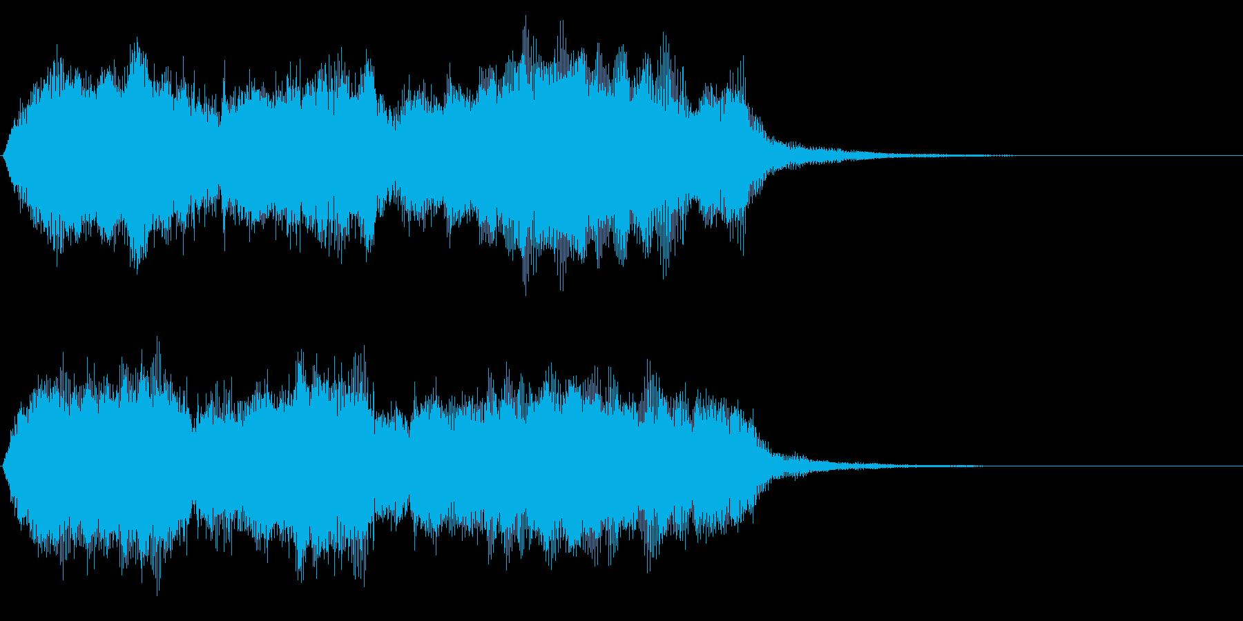 厳粛でファンタジックなエンディング 重厚の再生済みの波形