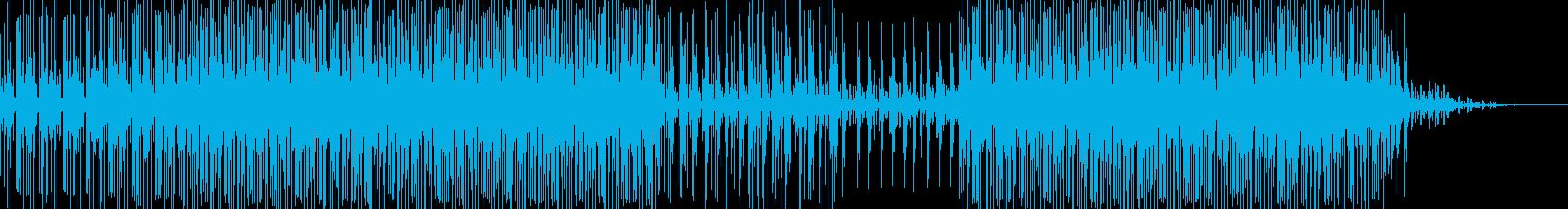 不安で切ない夢の中にいる様なループEDMの再生済みの波形