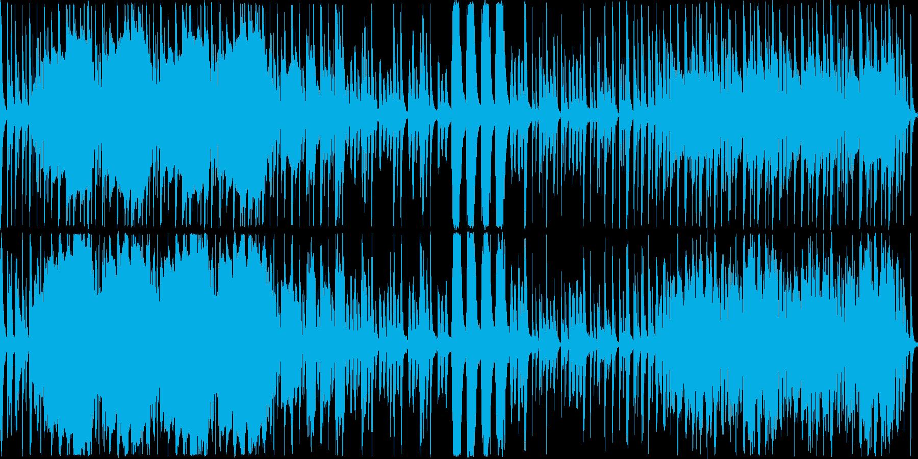 のどかな昼下がりをイメージした、のんび…の再生済みの波形