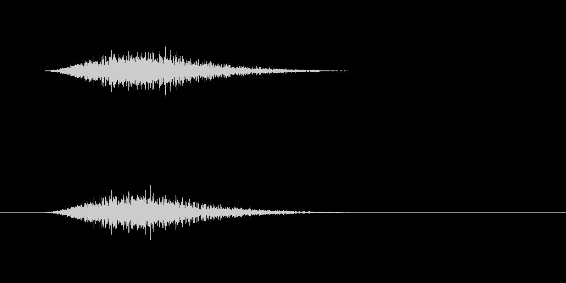 【ショートブリッジ31-3】の未再生の波形
