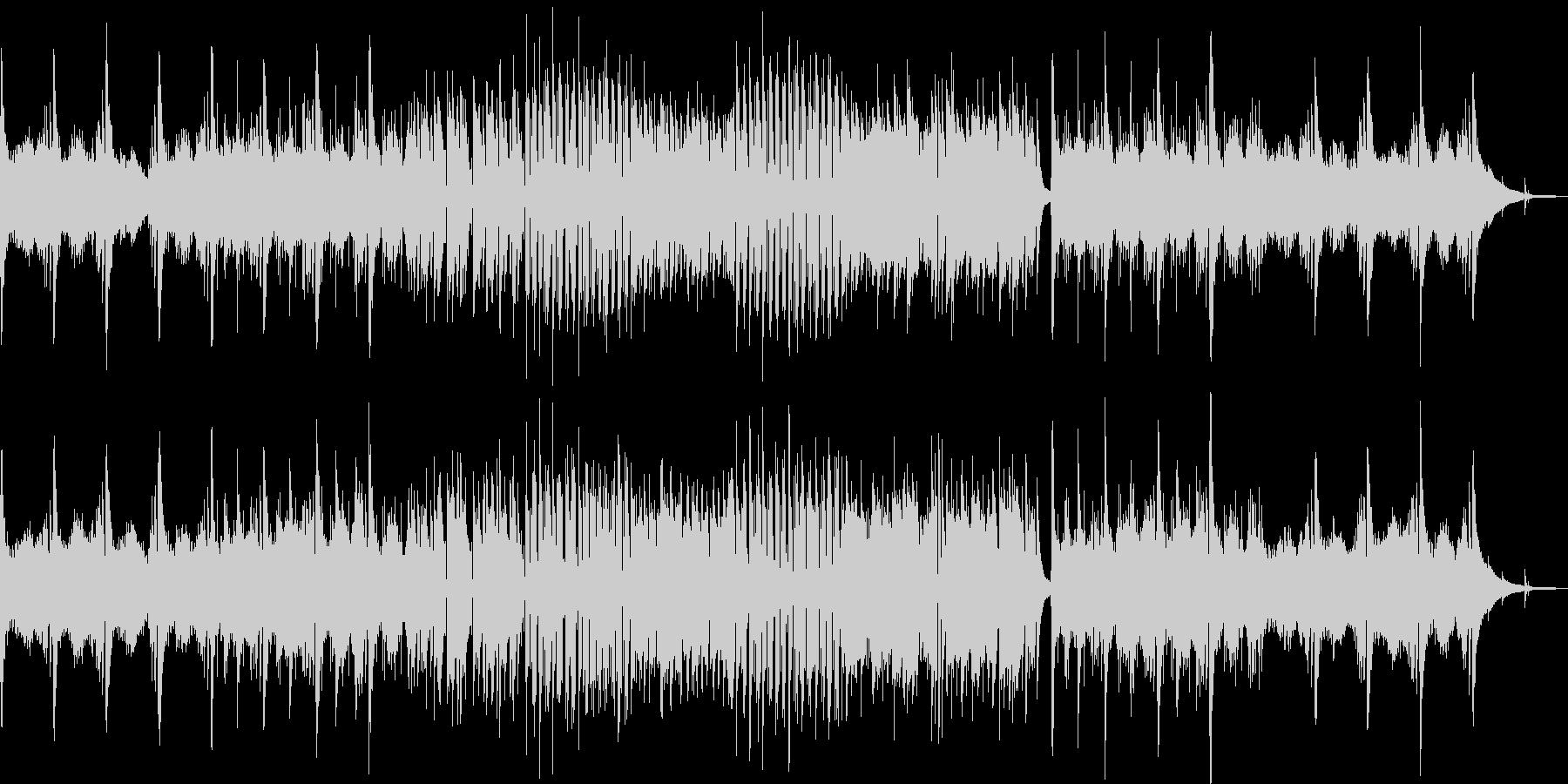 即興的なで優しいアコギフレーズのBGMの未再生の波形