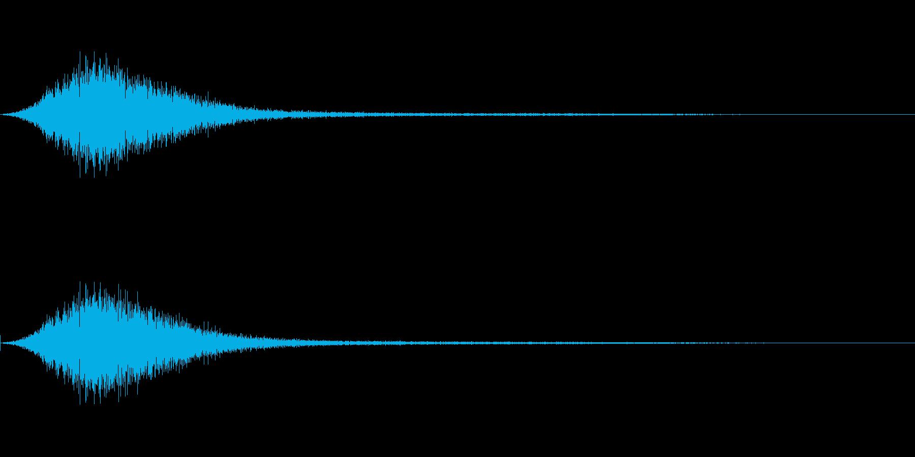 スッ(タイトルメニュー_キャンセル02)の再生済みの波形