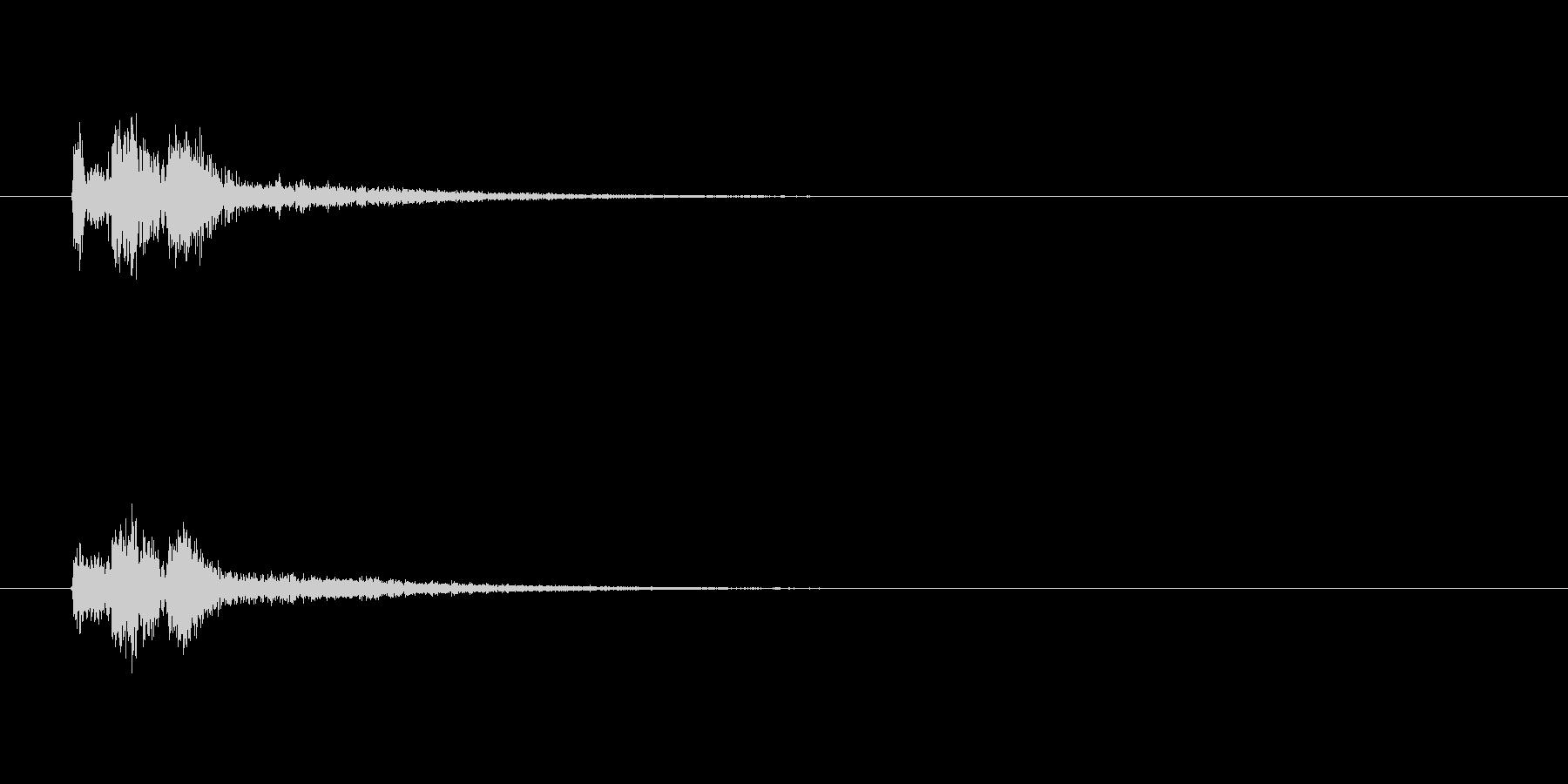 【スポットライト03-1】の未再生の波形