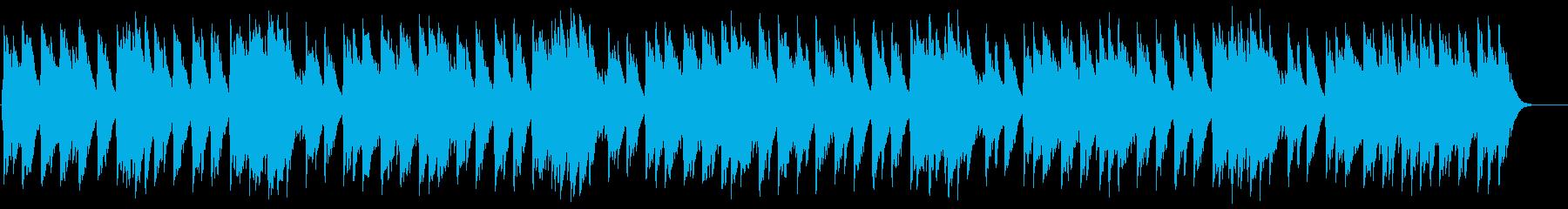 ホッカホカの十字パン オルゴールの再生済みの波形