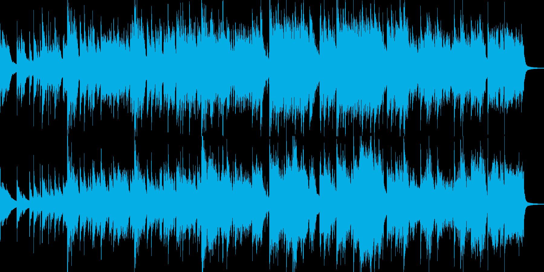 【和風】穏やかでメロディアスな曲の再生済みの波形