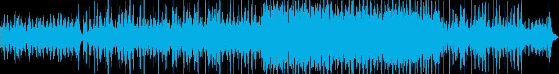 切ないピアノのバラード。2分45秒の再生済みの波形