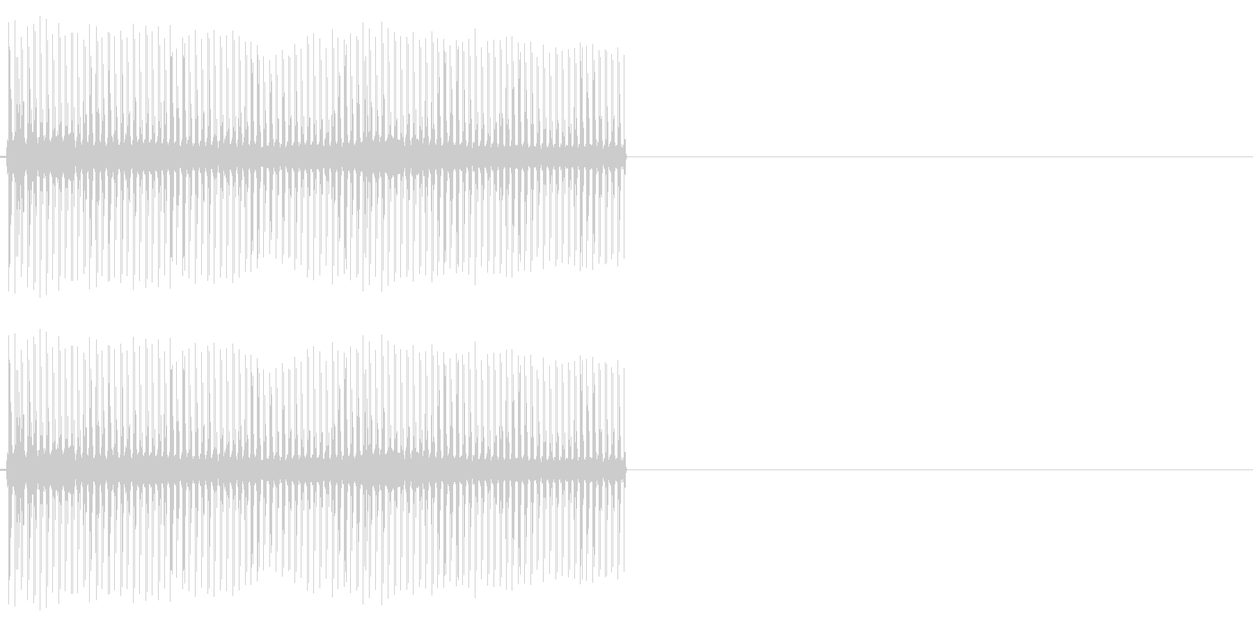ビリビリ!電撃・感電の音!2ロングの未再生の波形
