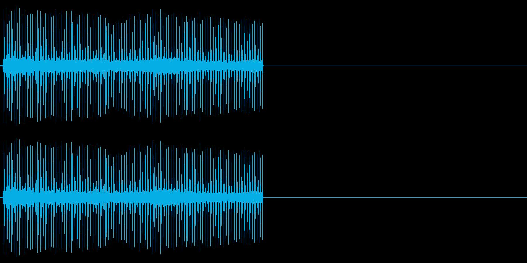 ビリビリ!電撃・感電の音!2ロングの再生済みの波形
