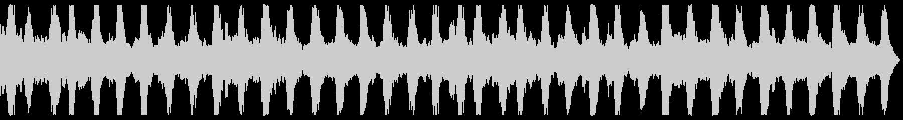 ダークアンビエント ホラーノイズBGMの未再生の波形