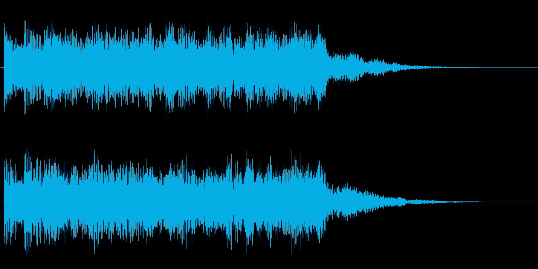 ミステリアス 摩訶不思議な怪しい音 奇妙の再生済みの波形