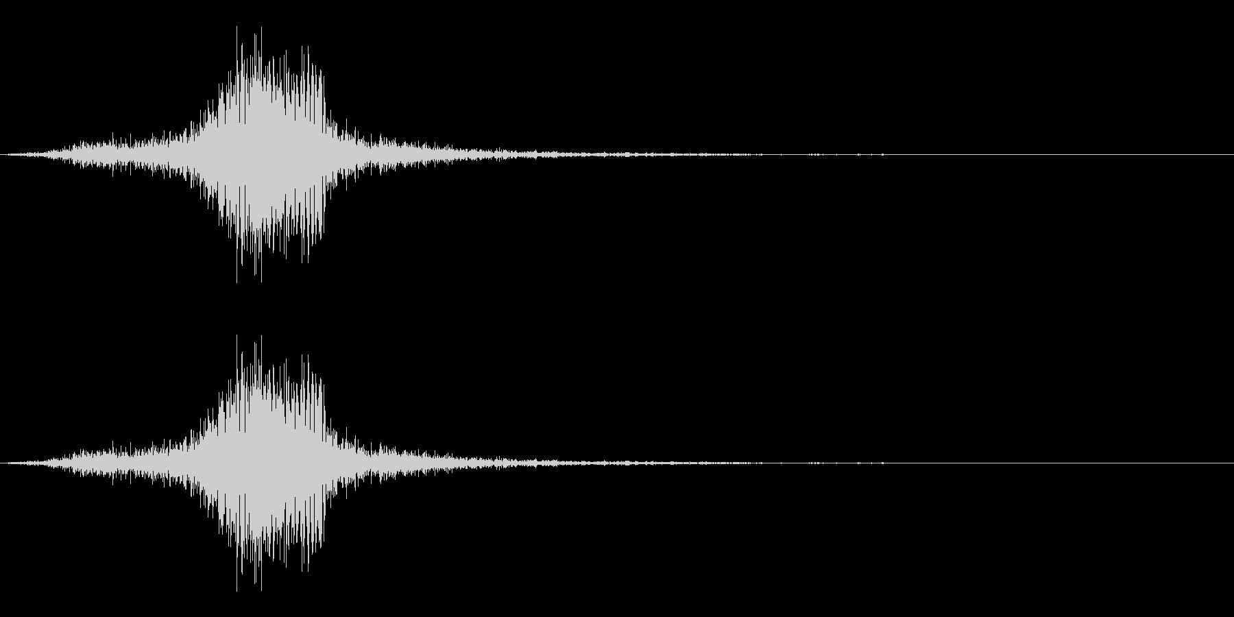弓矢を放った時の効果音04の未再生の波形