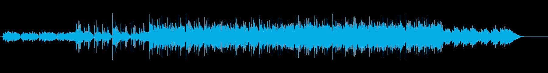 怪しい ハロウィン ホラー メタル調の再生済みの波形